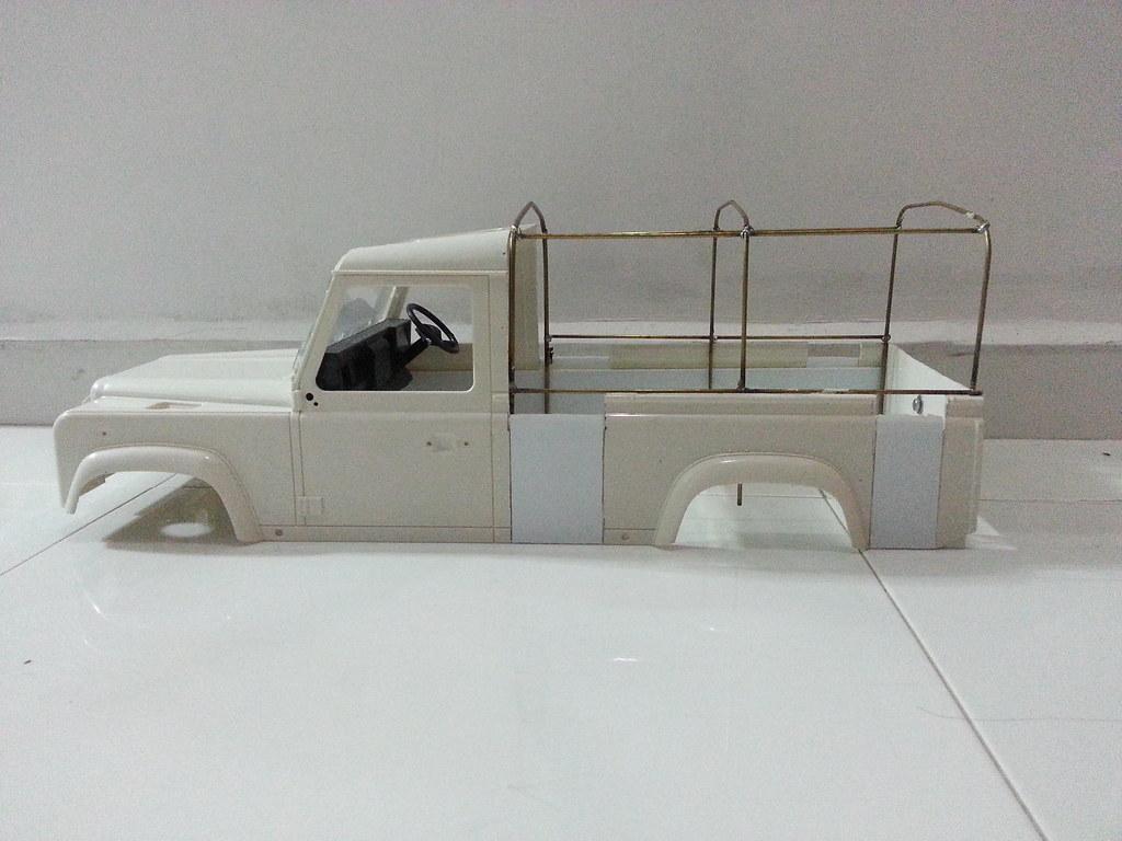 land - BabyBoy's Land Rover D110 V2 8657347231_776233caaa_b