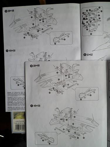 Pas-à-pas : Sukhoi 27 Flanker [CC:Lee 1/72 ] 8581698676_21c9a11e49