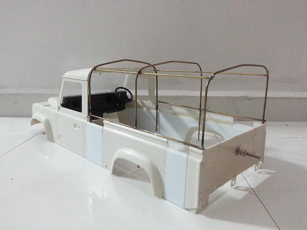land - BabyBoy's Land Rover D110 V2 8657347321_2b8ff26b42_b