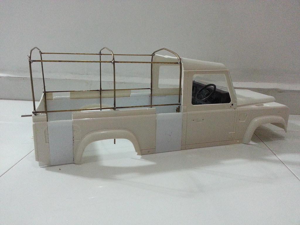 land - BabyBoy's Land Rover D110 V2 8657347783_25e7c04b04_b