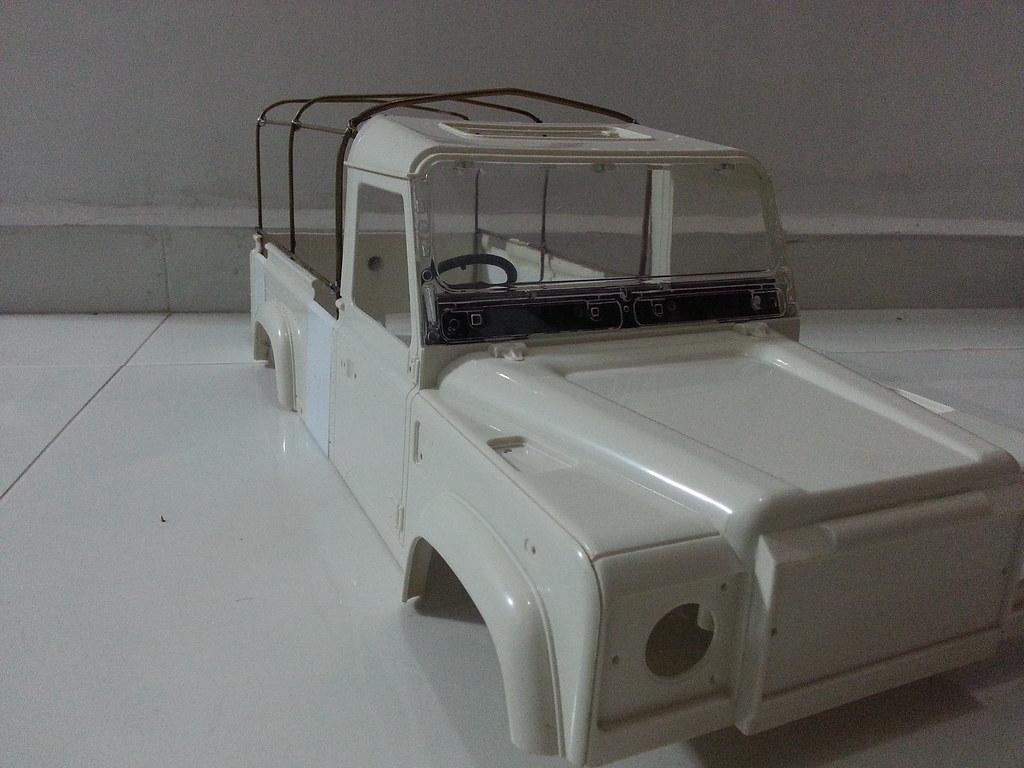 land - BabyBoy's Land Rover D110 V2 8657347647_da35416106_b