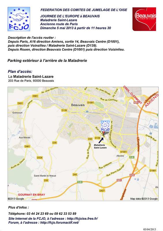 BD_maladrerie saint lazare beauvais - Google Maps