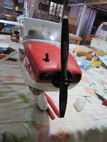 Montagem do Cesna 40 The World Models 7604798358_7c0e270d67
