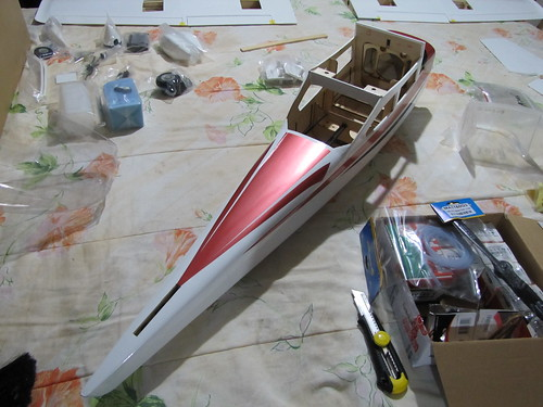 Montagem do Cesna 40 The World Models 7586280744_a855a501f4