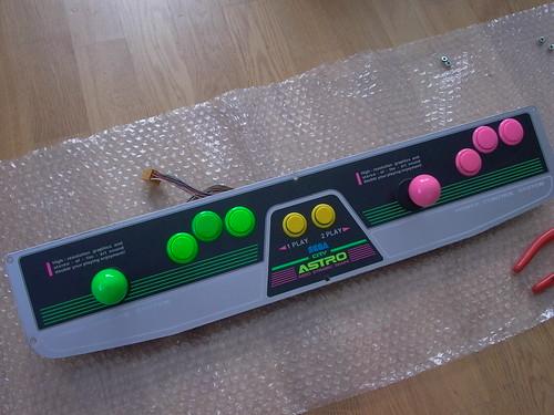 [VDS] Panel Astro 2L6B (boutons,joystick & harness inclus) 7388545906_a93eae328f