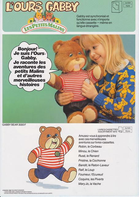 Petits Malins (les) et l'ours Gabby (Bandaï) 1986 - 1987 8198497467_d4bd407d79_z