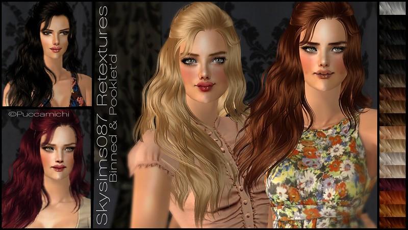 Прически для The Sims 2 .Женские - Страница 2 8505604666_239900986f_c