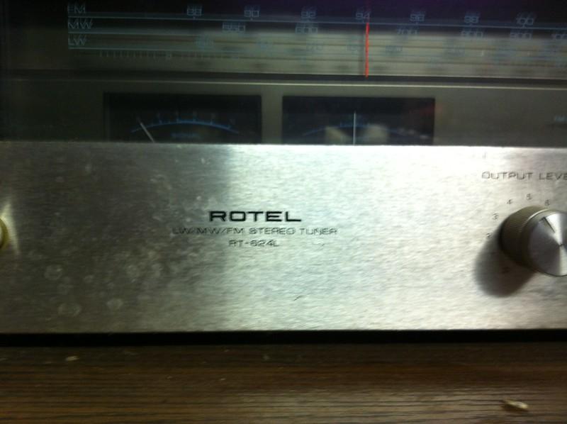 Rotel RA-812 e Rotel 624L 8562539194_6dfbc219e9_c