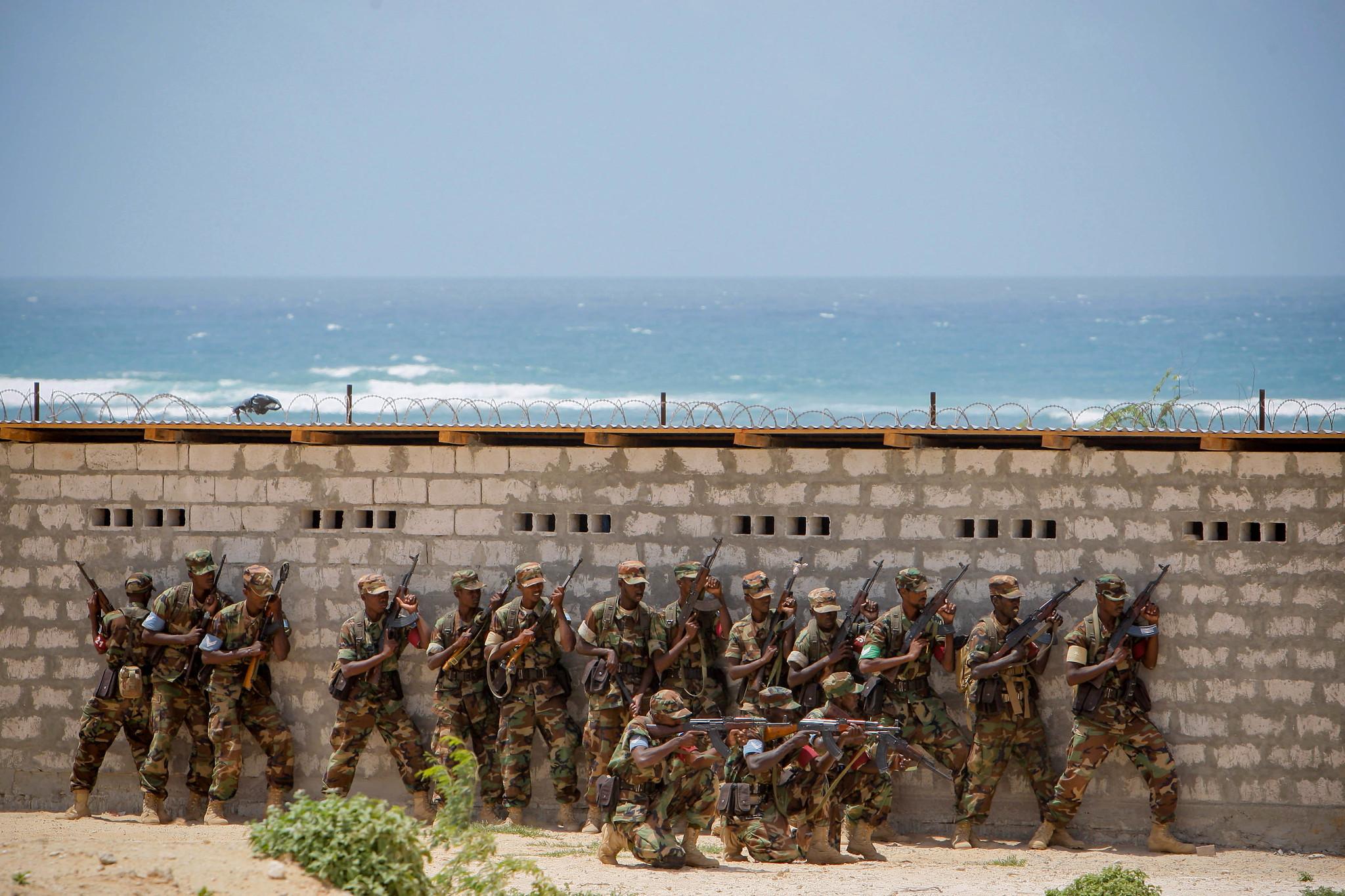 Armée Somalienne / Military of Somalia 7786576378_f5b8b0a3f0_k