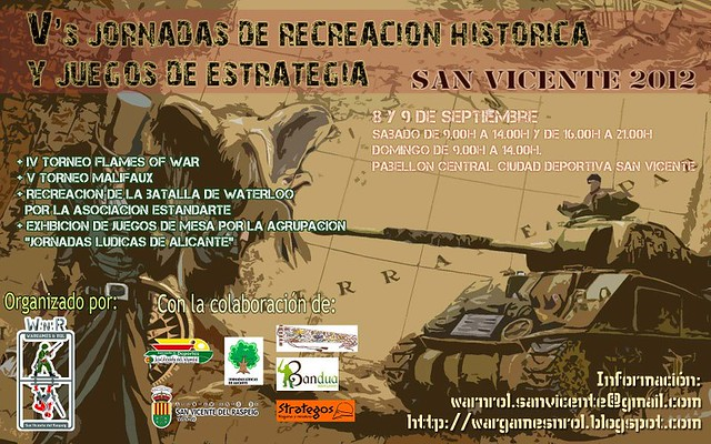 Vs Jornadas de Recreación Histórica de San Vicente (8-9 Septiembre) 7923465316_bccea0eea6_z