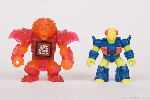 Beast Saga VS Battle Beasts: size comparison