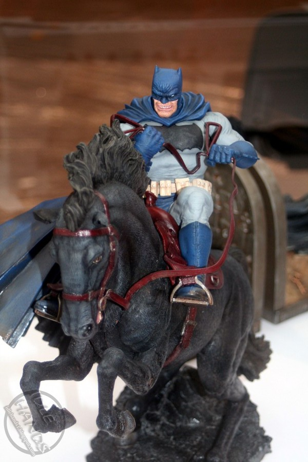 Dc Direct - 1/6 The Dark Knight returns Batman horse Statue 8076049832_c5f43d7330_o