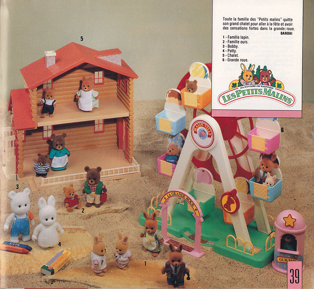 Petits Malins (les) et l'ours Gabby (Bandaï) 1986 - 1987 8197095150_de14e00ce8_z