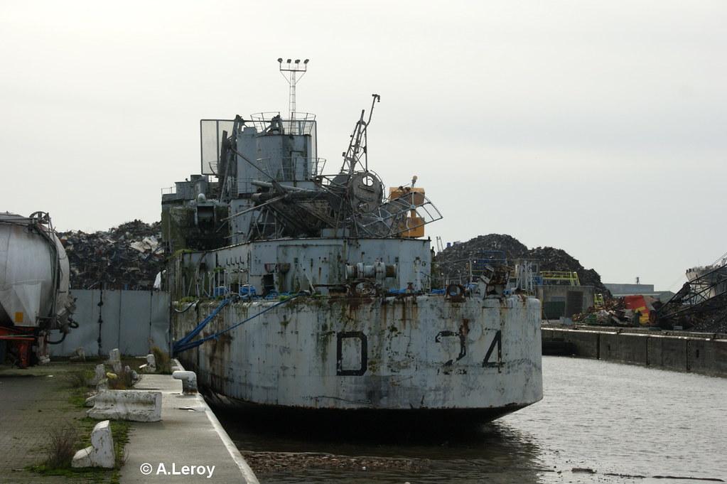 Le dernier voyage de l'ex escorteur d'escadre BOUVET - Page 2 8305734554_c593330039_b