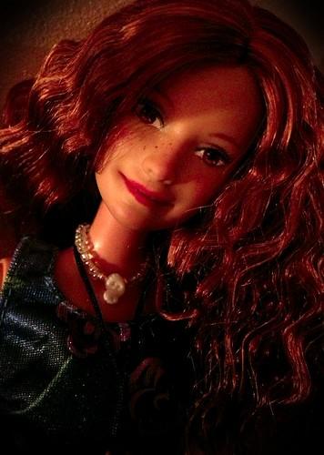 Ася (Asija - Barbie repaint by talented Latvian artist Asija)