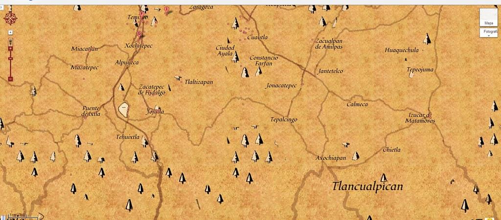 mapa en modo tesoro 8610754497_77b7be52bc_b
