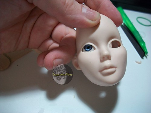 HOW TO: Make a vinyl dolls inset eyes changeable 7764339018_5b09b3b695