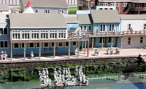 Sea lions at Pier 39 - Miniland San Francisco