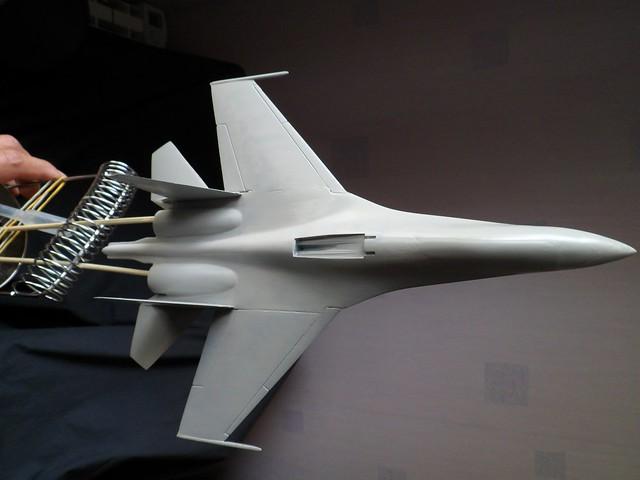 Pas-à-pas : Sukhoi 27 Flanker [CC:Lee 1/72 ] 8561268611_c2a2fac0a6_z