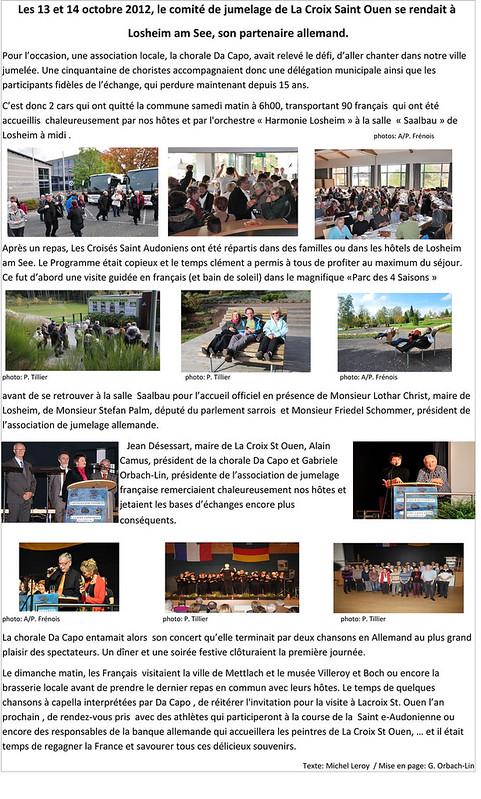 Article La Croix Losheim