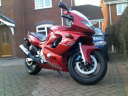 For Sale: Red 99T Thundercat, 35k miles - Swindon, Wilts 8596379776_12bca7b14a
