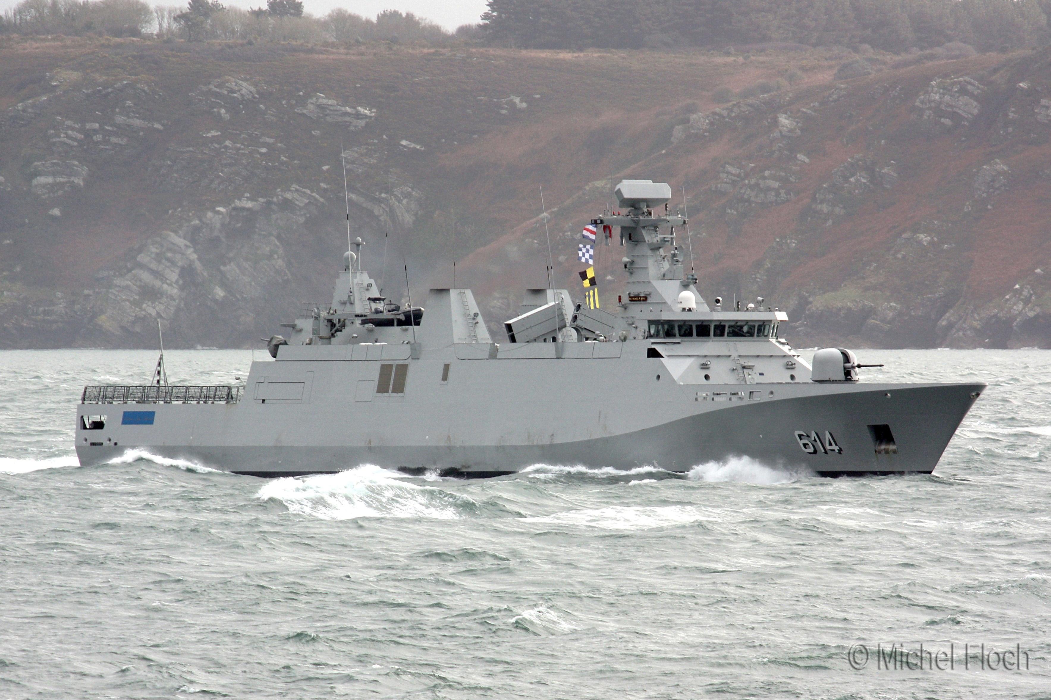 Royal Moroccan Navy Sigma class frigates / Frégates marocaines multimissions Sigma - Page 13 8585785117_6e908eb10e_o