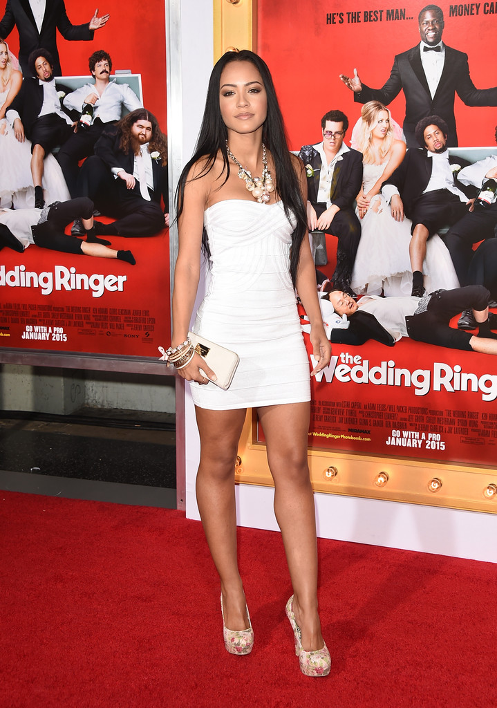 ¿Cuánto mide Tristin Mays? - Real height Tristin-mays-Premiere-Screen-Gems-Wedding-Ringer-Arrivals-YQA5BDt5G7ax
