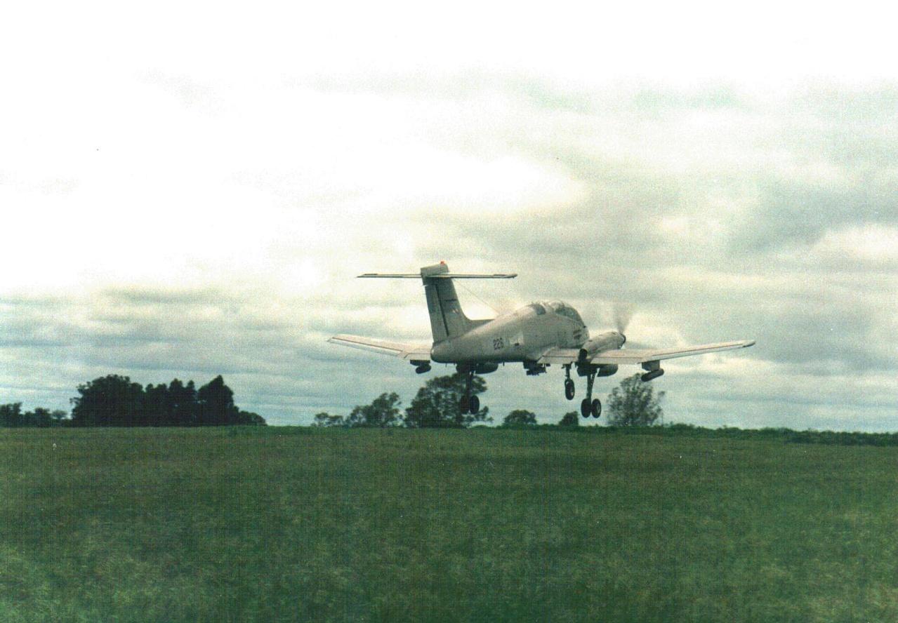 Beechcraft T-6C Texan II en la Escuela de Aviación Militar (EAM) Pucara10