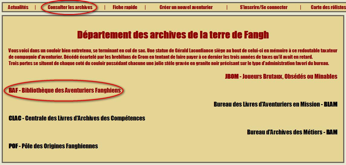 [site web] Création de personnage en ligne - Page 2 Archive