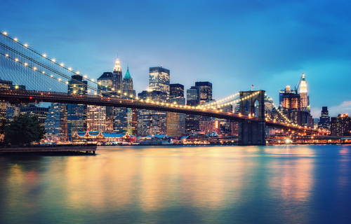 ```Orase``` - Page 9 Bridge-city-lights-new-york-city-photography-Favim.com-75695