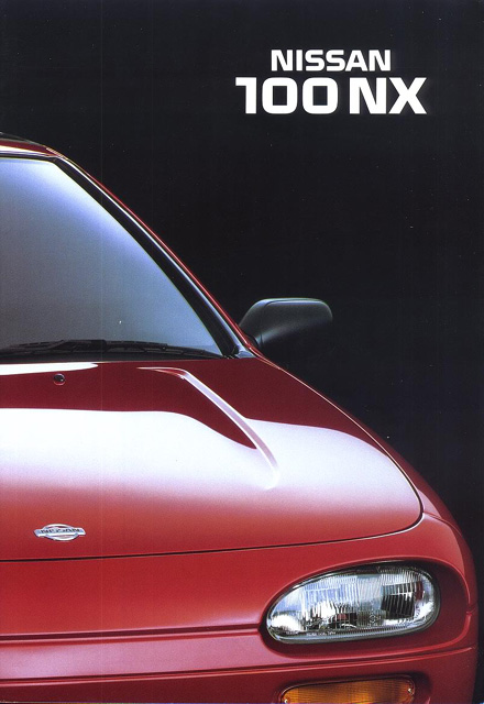 Topic officiel NISSAN 100NX - B13 100nx94_Frontcover