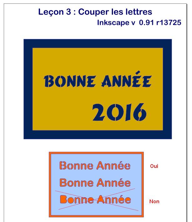 """Inkscape - Leçon 3 - Couper les lettres """"pleines"""" INK-Lecon3-LettreCoupees"""