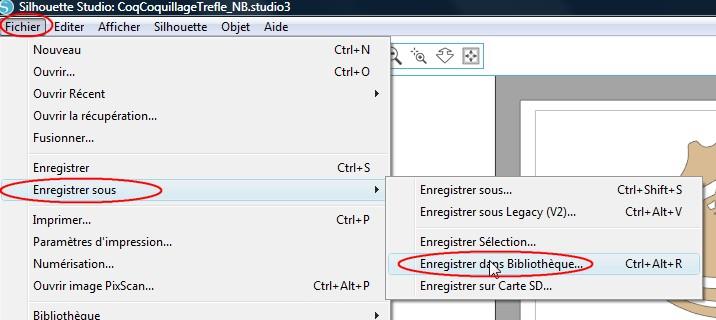 07 - Comment Ajouter un fichier dans sa bibliothèque EnregistrementBibliotheque