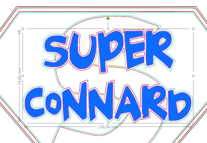 Comment vectoriser ce logo Super_11-ptimoi-c