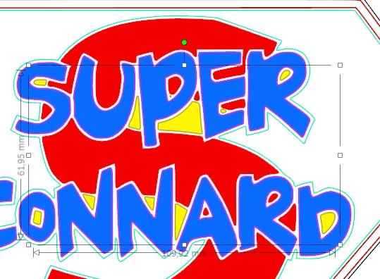 Comment vectoriser ce logo Super_11-ptimoi-e