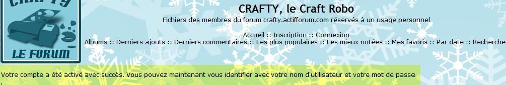 06 - La galerie : inscription (obligatoire) ConfirmationInscription_galerie