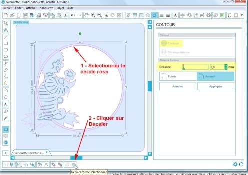 Comment incruster une image (silhouette) dans une carte CopieCercleDecaler