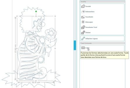 Comment incruster une image (silhouette) dans une carte CreerInterieurImage_1