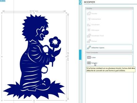 Comment incruster une image (silhouette) dans une carte ScinderImage_1
