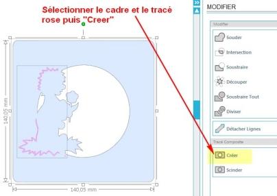 Comment incruster une image (silhouette) dans une carte SelectionCreer