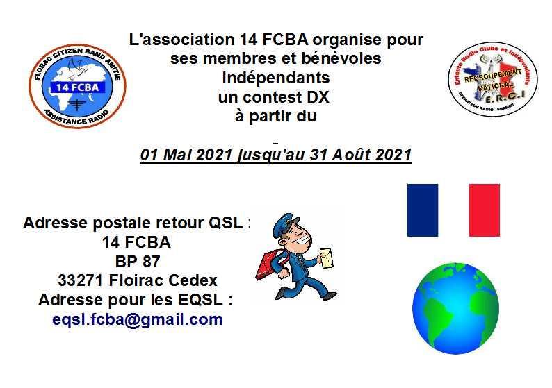 FCBA 33 - Floirac Citizen Band Amitié (33) - Page 10 Contest-dx