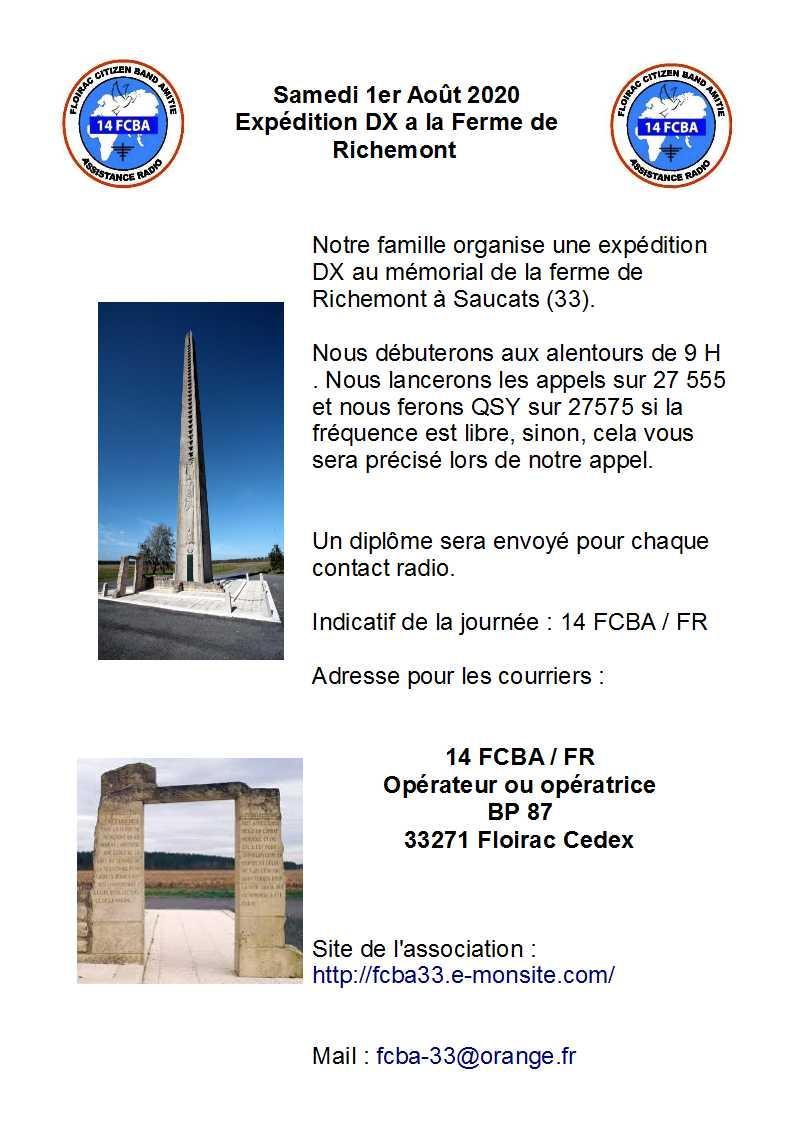 FCBA 33 - Floirac Citizen Band Amitié (33) - Page 8 Expesaucats