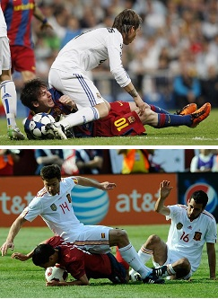 Head to Head-Messi vs Neymar Sitondefender1