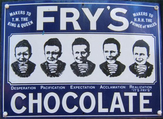 Vintage Chocolates Frys5boyssm