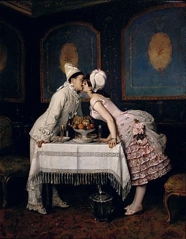 Le baiser... Auguste-toulmouche-le-baiser