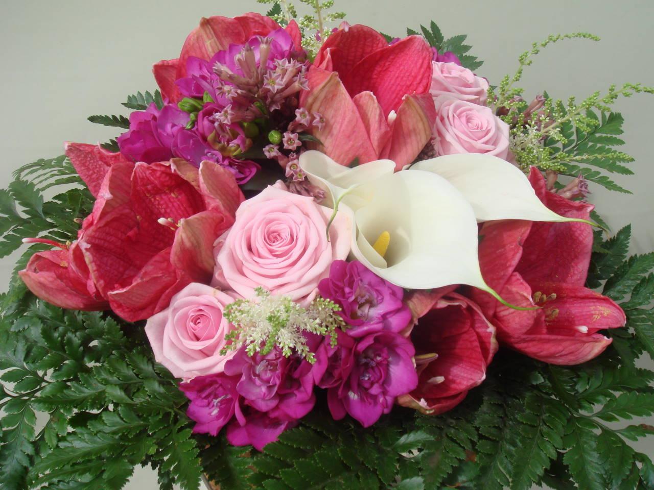 Joyeux anniversaire Kaya Bouquet-rond-070614
