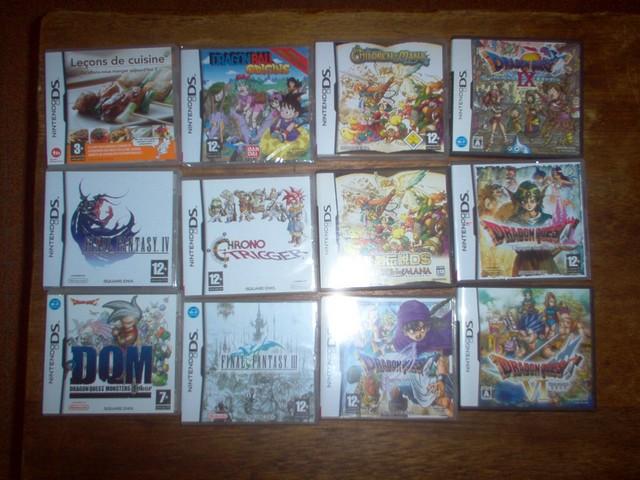 Collection jeux vidéos Bakasan IM000658