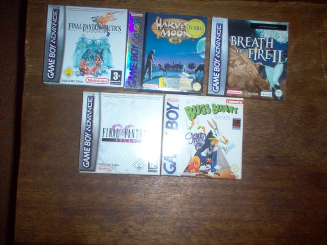 Collection jeux vidéos Bakasan IM000660