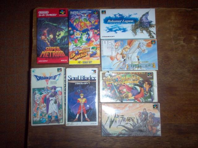 Collection jeux vidéos Bakasan IM000667