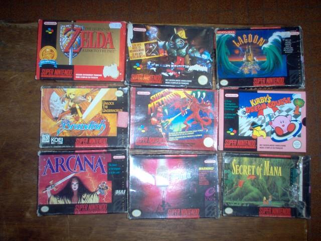 Collection jeux vidéos Bakasan IM000669